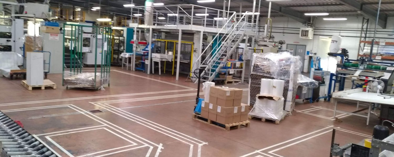 Traçage industriel usine