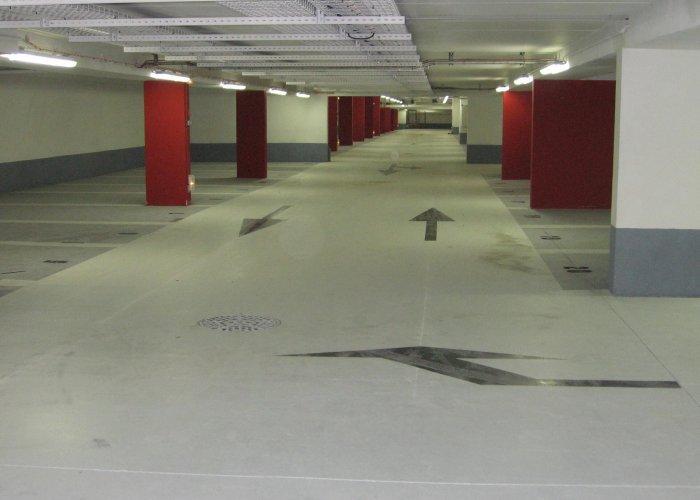 signalisation verticale parking sous terrain